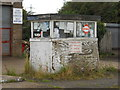 TF1105 : Disused garage and petrol filling station, Helpston by Paul Bryan