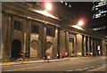 TQ3281 : Night-time runners on Threadneedle Street by Stephen Craven