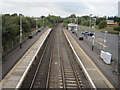 NS5421 : Auchinleck railway station, Ayrshire by Nigel Thompson