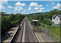 ST0381 : Towards Llanharan from Pontyclun by rail by Jaggery