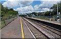 ST0381 : Towards the station footbridge, Pontyclun by Jaggery