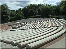 NS5766 : Kelvingrove bandstand and amphitheatre by Thomas Nugent