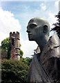 ST5545 : Face & Tower by Des Blenkinsopp