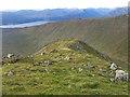 NN0931 : North ridge of Sron an Isean by wrobison