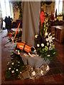 TQ9529 : Flower festival at Appledore by Marathon