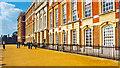 TQ1568 : Hampton Court Palace: south side of Stuart (Wren) palace by Ben Brooksbank