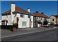ST4070 : White house, Kenn Road, Clevedon by Jaggery