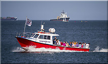 J5082 : The 'Bangor Boat' in Bangor Bay by Rossographer