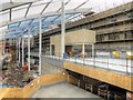 SJ8499 : New Mezzanine Floor, Manchester Victoria Station by David Dixon