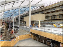 SJ8499 : New Mezzanine Floor, Manchester Victoria Station by David Dixon
