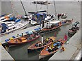 SX8751 : Steam boats, Dartmouth Regatta by Derek Harper