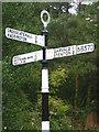 NT5872 : Rural East Lothian : ELCC Fingerpost Near Papple by Richard West