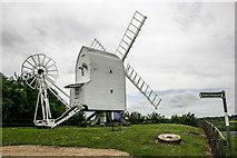 TL4138 : Chishill Windmill by Kim Fyson