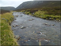 NN9193 : Leth-chreag from the banks of the River Eidart, Glenfeshie by ian shiell