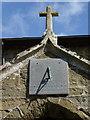 TF3374 : Sun dial  at St Mary's Church, Tetford by Ian S
