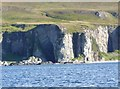 NR4179 : One of the Bolsa caves, viewed from the sea by Becky Williamson