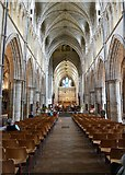 TQ3280 : Southwark Cathedral nave by Rob Farrow