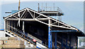 J3272 : The South Stand, Windsor Park, Belfast - September 2014(1) by Albert Bridge