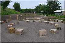 SD4863 : Stone circle near the Lune Aqueduct by Ian Taylor