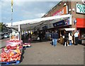 TQ1280 : Indoor market, South Road, Southall by Marathon