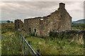 SD7055 : Ruined farm Lane Side by Tom Richardson