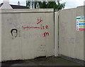 SK7053 : Graffiti, Southwell by Stephen Richards