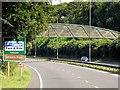 SU6153 : Footbridge Over A339, Basingstoke Northern Ring Road by David Dixon