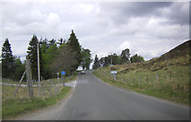 NN7754 : B846 by the Schiehallion turning by Peter Bond