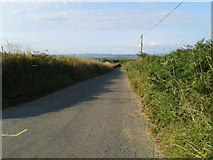 SX0480 : Road heading to Trelill by Rob Purvis