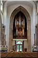 TL7006 : Nave Organ and tower arch, Chelmsford Cathedral by Julian P Guffogg