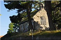 SS5246 : Ilfracombe : Cemetery Chapel by Lewis Clarke