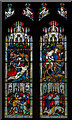 TL7006 : Stained glass window, Chelmsford Cathedral by Julian P Guffogg
