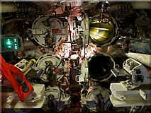 TQ7569 : The Business End of HMS Ocelot (S17) Chatham Dockyard by Peter Skynner