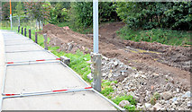 J3673 : Grand Parade culvert improvements, Belfast - September 2014(2) by Albert Bridge