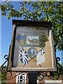 TF8541 : Village sign, Burnham Thorpe, Norfolk by Richard Humphrey