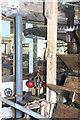 SU4647 : Whitchurch Silk Mill - waterwheel by Chris Allen