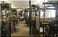 SU4647 : Whitchurch Silk Mill - loom shop by Chris Allen
