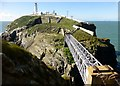 SH2082 : South Stack Lighthouse by Rude Health