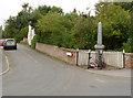 SK8076 : Laneham War Memorial by Alan Murray-Rust