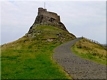 NU1341 : Lindisfarne Castle by Rude Health
