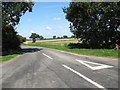 TG2225 : Norwich Road at White Cross by Evelyn Simak