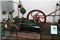 SU4924 : Twyford Pumping Station - Crossley gas engine by Chris Allen