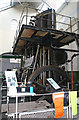 SU4924 : Twyford Waterworks - steam engine by Chris Allen
