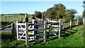 SO2686 : On Offa's Dyke Path near Mainstone by Jeremy Bolwell