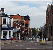 SJ8481 : North along Church Street, Wilmslow by Jaggery