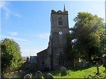 SD8789 : St. Margaret's, Hawes by Philip Platt