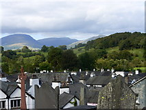 SD3598 : View from the churchyard, Hawkshead by pam fray