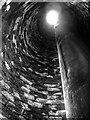 SJ8383 : A Very Tall Chimney by David Dixon
