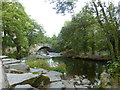 NY3403 : Skelwith Bridge over the River Brathay by pam fray