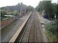 SJ6992 : Glazebrook railway station, Warrington by Nigel Thompson